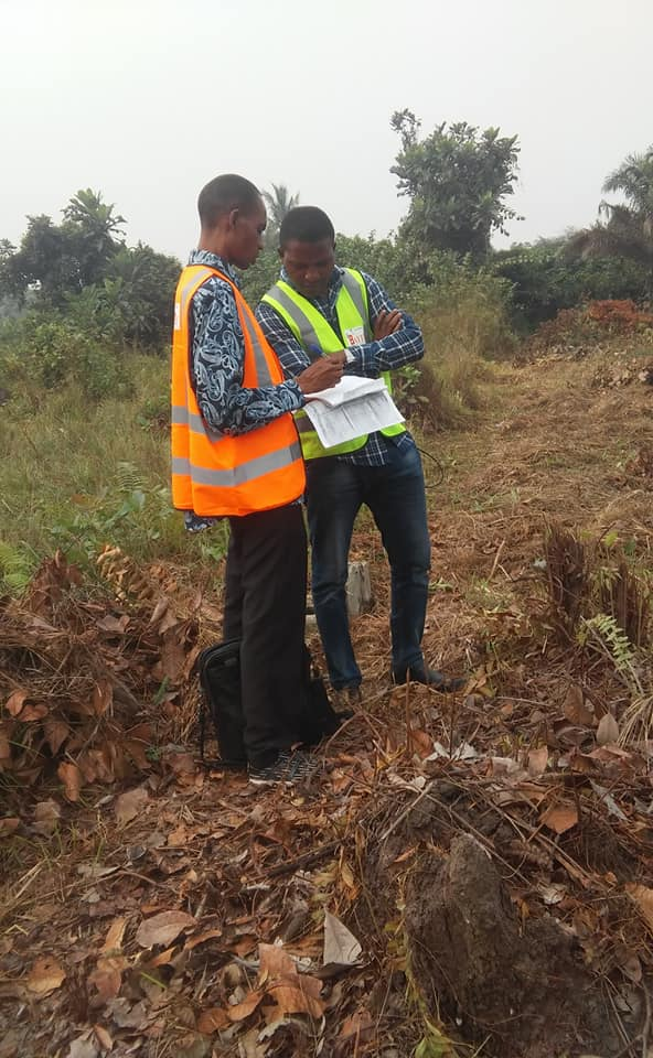 Surveyor and Estate Manager Strategizing During Physical Allocation
